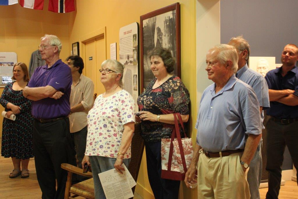Proctor community members learn about heritage exhibit