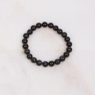 Vermont Verde Antique Marble Bracelet Large Beads