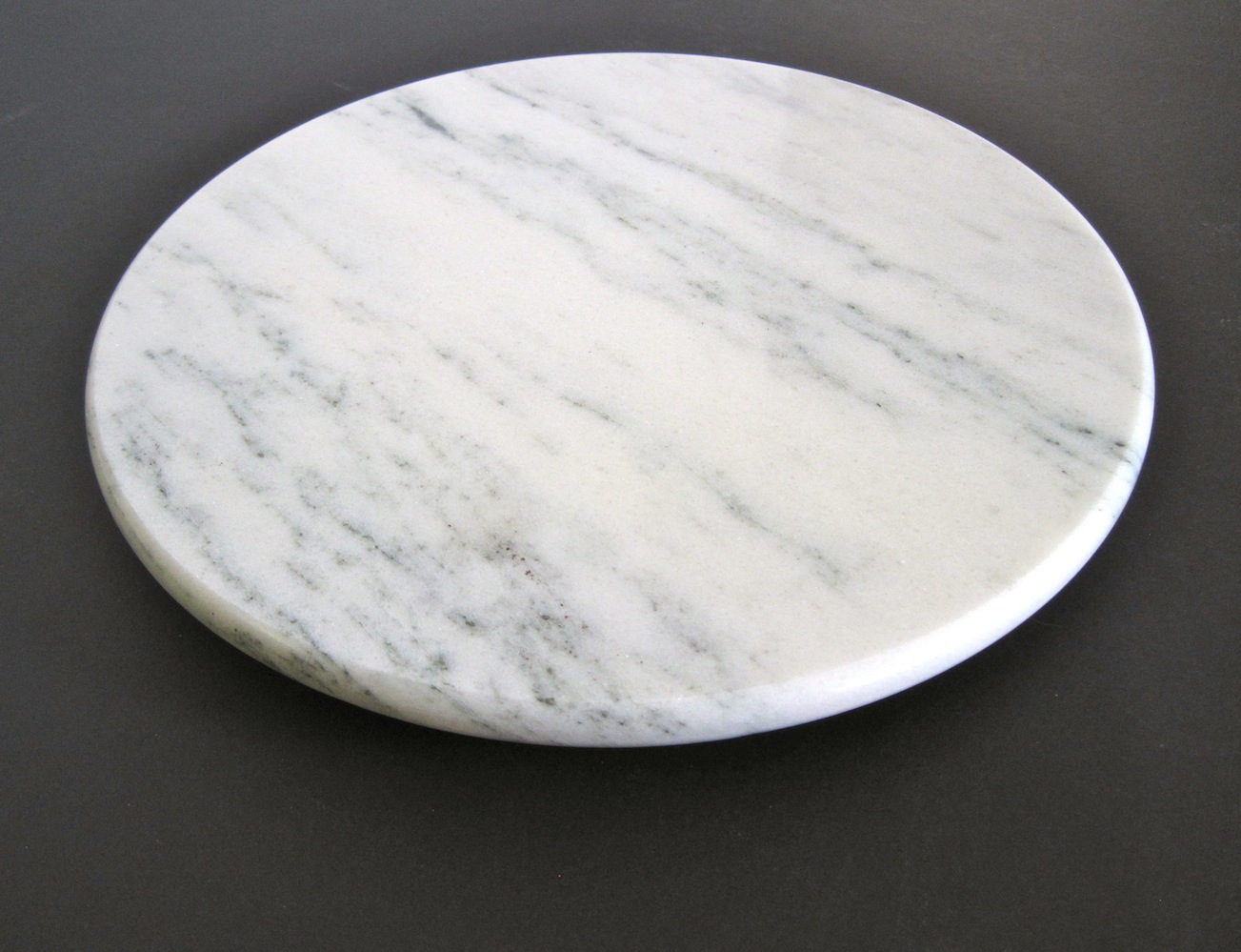 Vermont Danby White Marble Lazy Susan Vermont Marble Museum