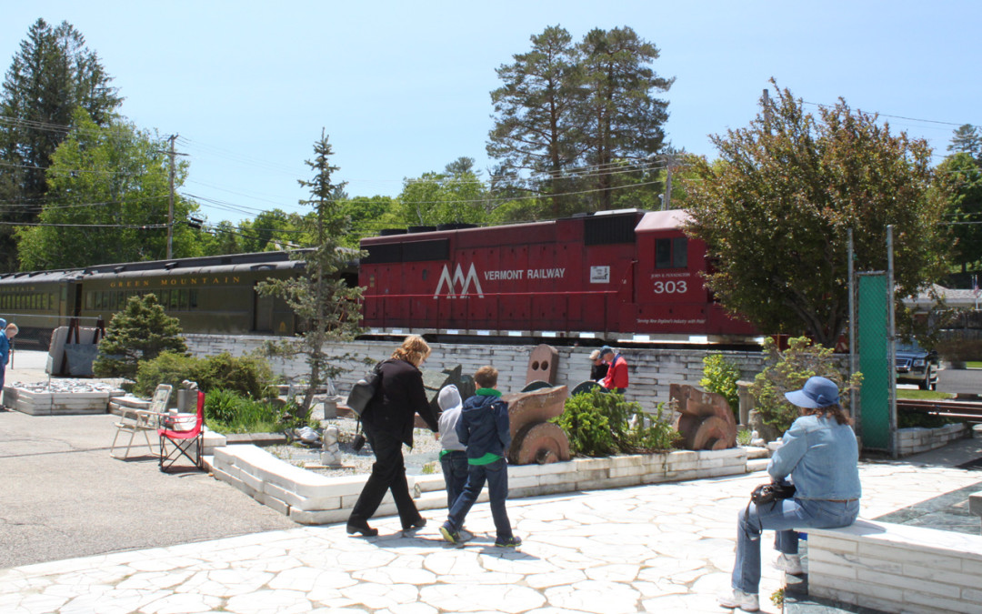 Celebrate Museum Day with a train ride!