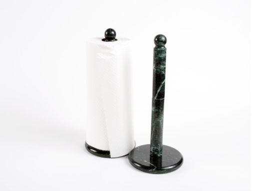 vermont verde antique marble paper towel holder