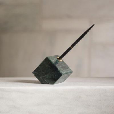 Vermont Verde Antique Marble Pen Holder