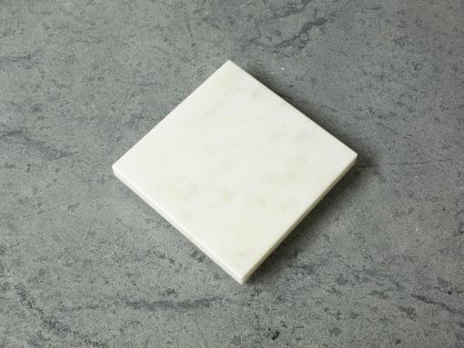 "Vermont Danby White Marble Trivet 6"" X 6"""