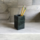Vermont Verde Antique Marble Pencil Holder