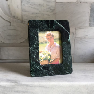Vermont Verde Antique Marble Picture Frame 5.5 x 3