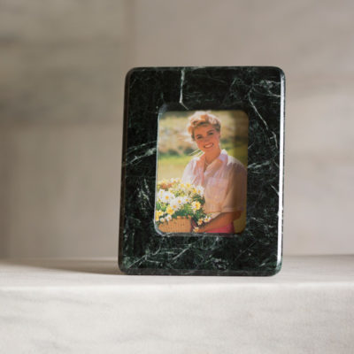 Vermont Verde Antique Marble Picture Frame 4x6