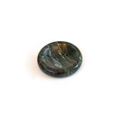 Vermont Verde Antique Marble Worry Stone