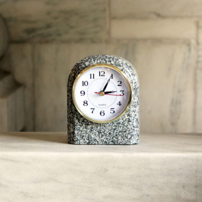 Arch Clock Barre Gray