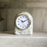 Granite Arch Clock Bethel White